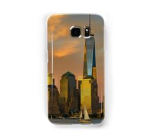 Sunset from Liberty Park Samsung Galaxy Case/Skin
