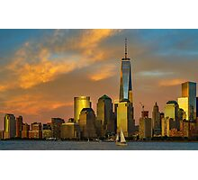 Sunset from Liberty Park Photographic Print