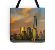 Sunset from Liberty Park Tote Bag