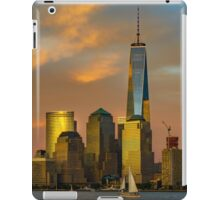 Sunset from Liberty Park iPad Case/Skin
