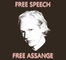 Julian Assange - Free Speech / Free Assange by portispolitics