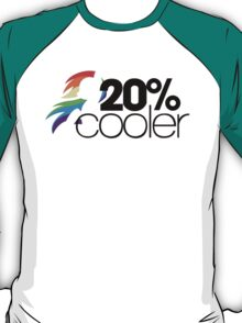 20% Cooler! (ALL options) - WHITE T-Shirt