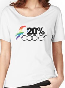 20% Cooler! (ALL options) - WHITE Women's Relaxed Fit T-Shirt