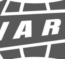 Warp Records logo (grey) Sticker