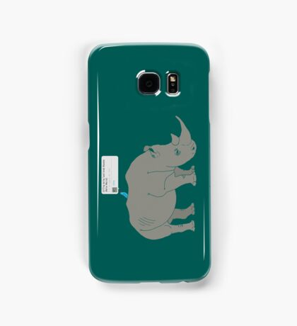#Rhino #Savanna Samsung Galaxy Case/Skin