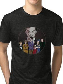Cluedo Sherlock: The Only Possible Solution. Tri-blend T-Shirt