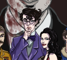 Cluedo Sherlock: The Only Possible Solution. Sticker