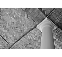 Empty Library Room Ceiling Photographic Print
