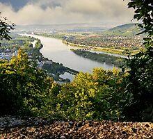 View from Leopoldsberg by BMV1