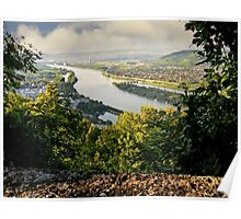 View from Leopoldsberg Poster