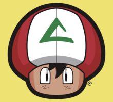 Ash-Shroom One Piece - Short Sleeve