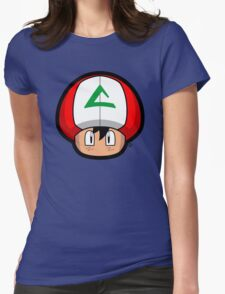 Ash-Shroom Womens Fitted T-Shirt