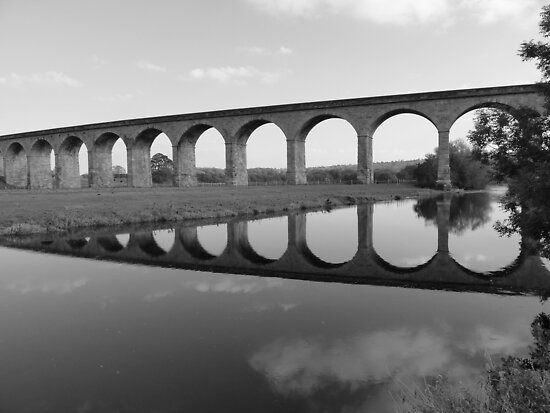 Arthington Viaduct, West Yorkshire #1 by acespace