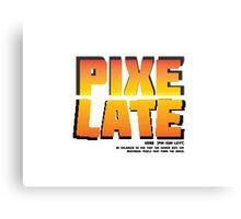 Pixelate! Canvas Print