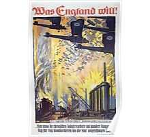 Was England will! 1585 Poster