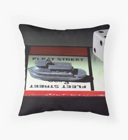 Admiral Of The Fleet Throw Pillow