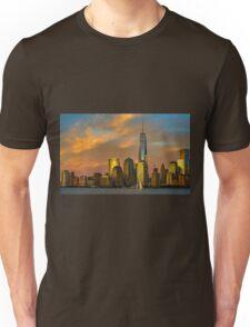 Sunset from Liberty Park Unisex T-Shirt