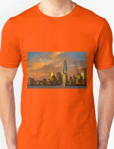 Sunset from Liberty Park T-Shirt