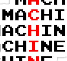 Man Machine Sticker