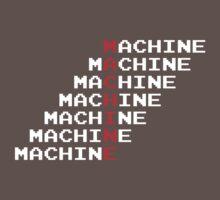 Man Machine One Piece - Short Sleeve