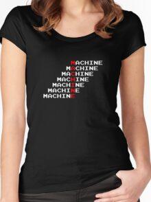 Man Machine Women's Fitted Scoop T-Shirt