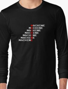 Man Machine Long Sleeve T-Shirt