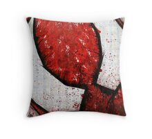 Man of the Spider Abstract Throw Pillow