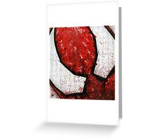 Man of the Spider Abstract Greeting Card