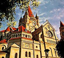 Franz Von Assisi Kirche by Beatrix M Varga