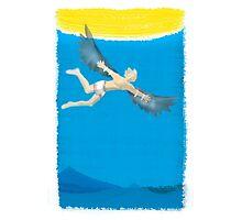 Icarus Falls Photographic Print