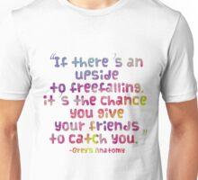Upside to Freefalling Unisex T-Shirt