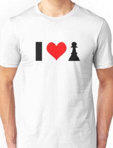I <3 PAWN - light shirt Unisex T-Shirt