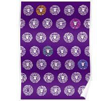 Yarn Ball Sheep Poster