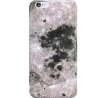 Surface of the Moon iPhone Case/Skin