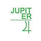 Jupiter Warrior Symbol iPhone4/4S Case by syaorankung
