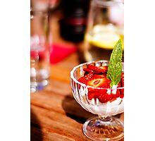 Taste of Summer.. Photographic Print