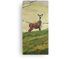 Deer Painting Canvas Print