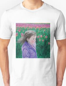 Walk among the tulips T-Shirt