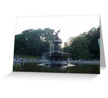 CENTRAL PARK BETHESDA ANGEL Greeting Card