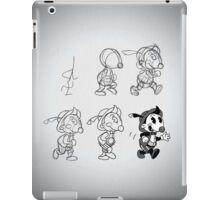 Cartoon Character Step by Step iPad Case/Skin