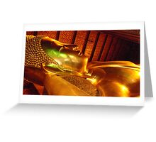 THAI TEMPLE Greeting Card