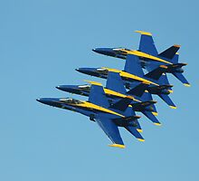 U.S. Navy Blue Angels by Marija