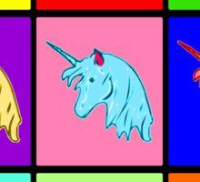 Pop Art Unicorn Sticker