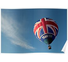 Team GB in the sky! Poster