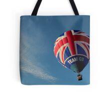 Team GB in the sky! Tote Bag
