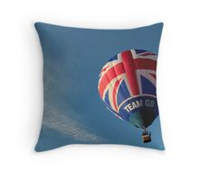 Team GB in the sky! Throw Pillow