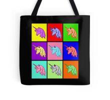 Pop Art Unicorn Tote Bag