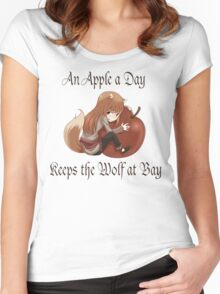 An Apple a Day Women's Fitted Scoop T-Shirt