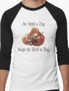 An Apple a Day Men's Baseball ¾ T-Shirt