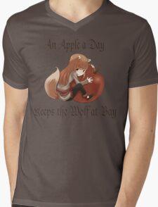 An Apple a Day Mens V-Neck T-Shirt